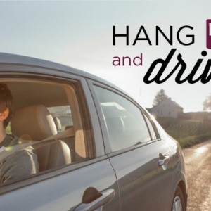 Hang up and drive.