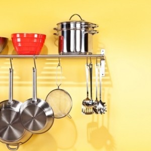 Kitchen rack.