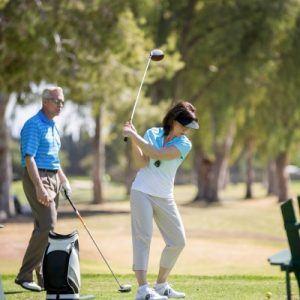 golf club distances