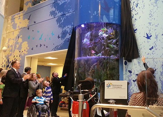 Nationwide Children's Hospital aquarium