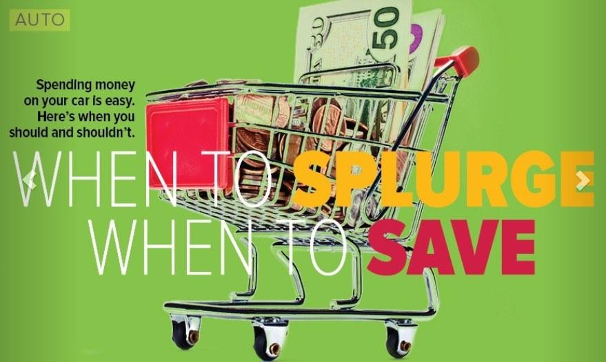 splurge save