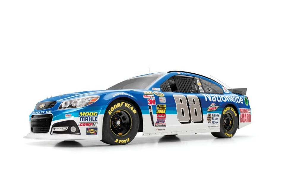 Dale Jr No 88 Car