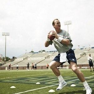 Peyton Manning dropback