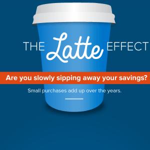 illustration of a latte