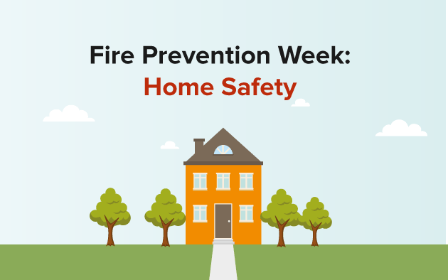 Home fire safety prevention checklist for Fire safety house