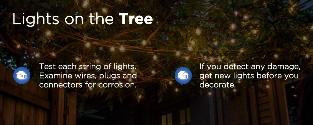 lights with text 'lights on the tree'