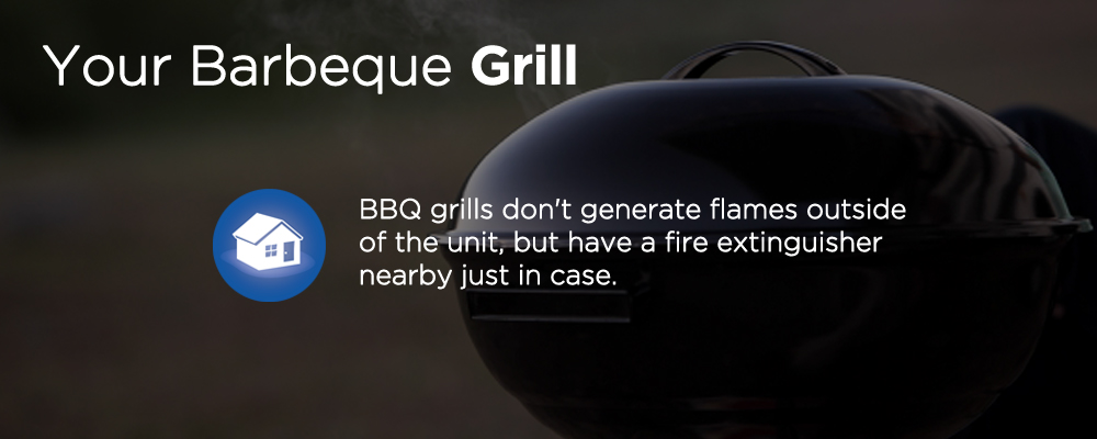 a BBQ grill with text 'your barbecue grill'