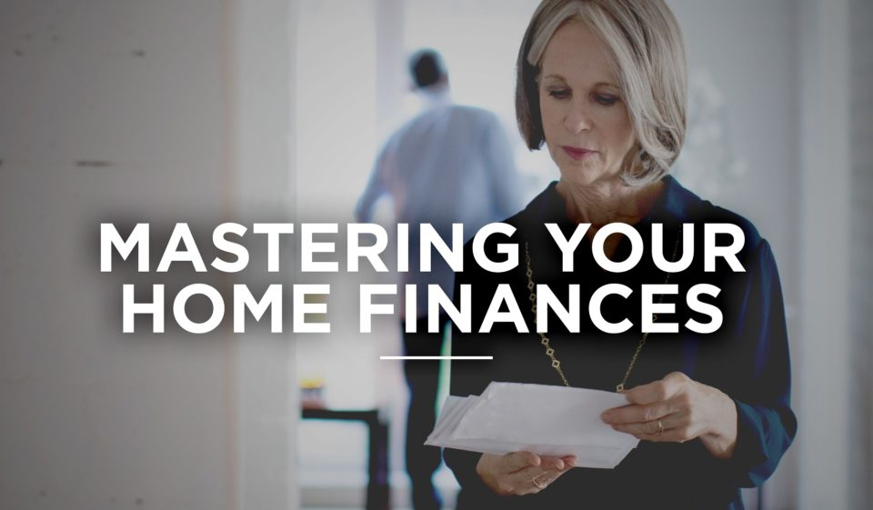woman mastering home finances