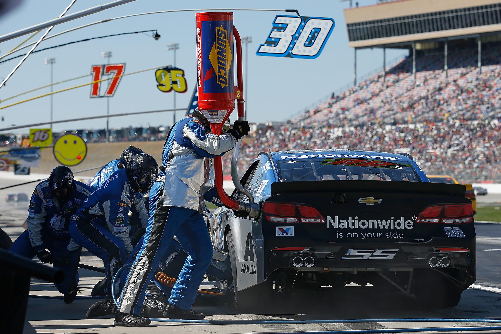 a Nationwide NASCAR