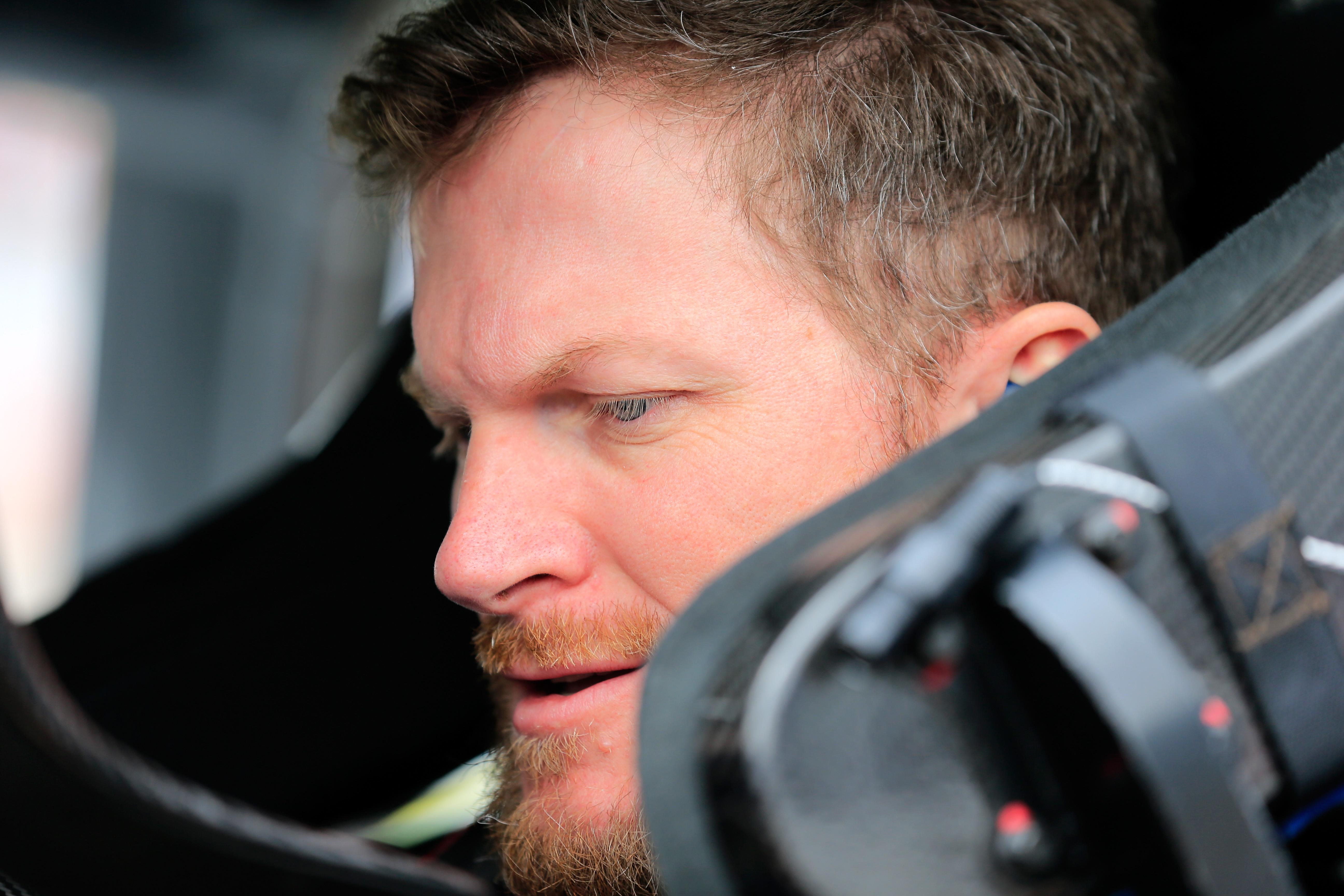 a NASCAR driver