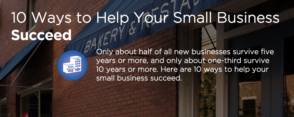 a small business