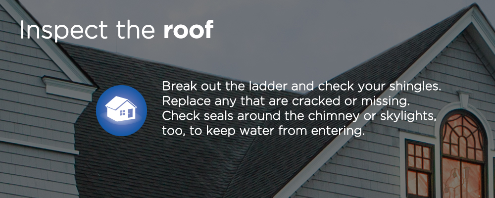 "a roof of a house with text ""inspect the roof"""