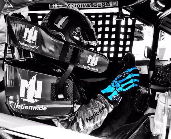 Dale Earnhardt Jr. gloves