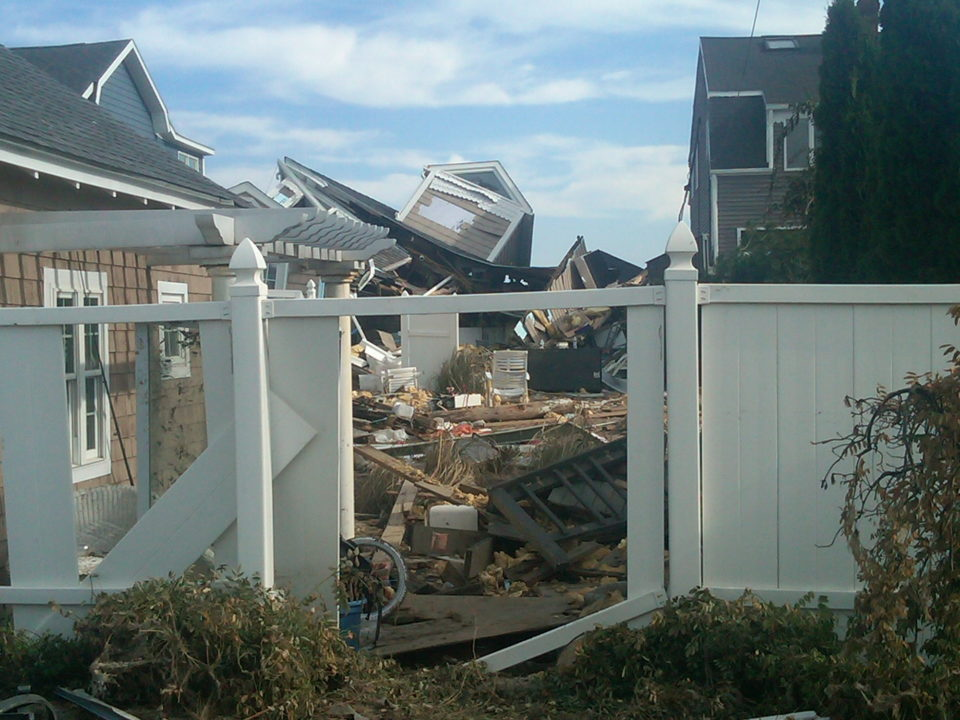Hurricane causes severe damage to homes