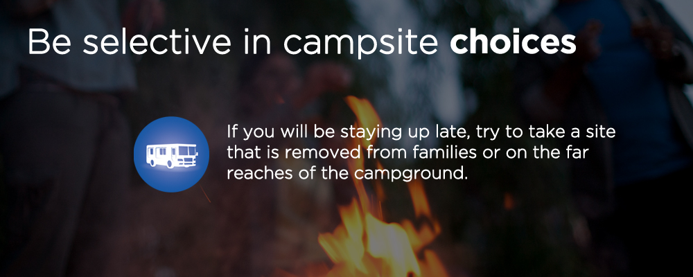 closeup of a campfire