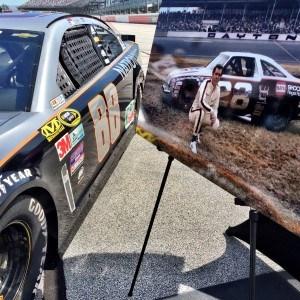 gray ghost NASCAR