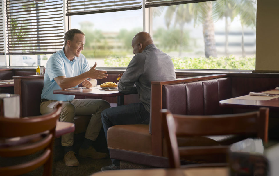 Peyton Manning Diner 1