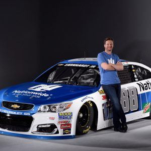 Dale Earnhardt Jr. car