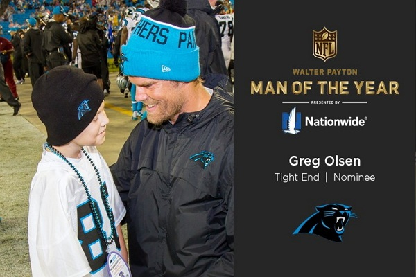 d04ca70b NFL's Greg Olsen Wins Nationwide's Charity Challenge