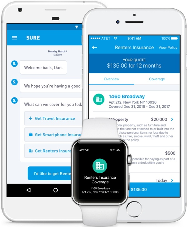 Apartment Renters Insurance: Nationwide Partners With Sure To Pilot Mobile-Based
