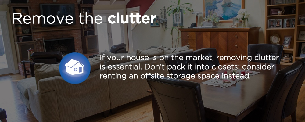 remove the clutter
