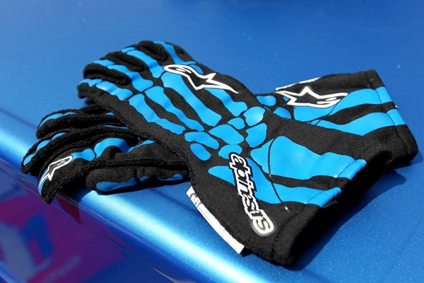 Dale Earnhardt Jr.'s gloves