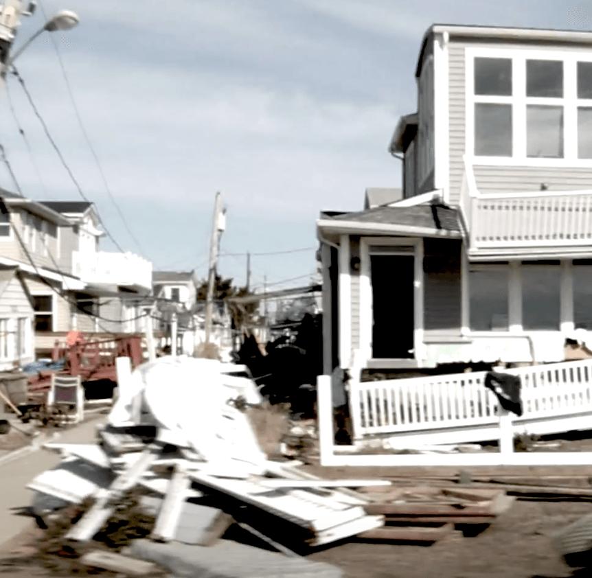 a broken down home