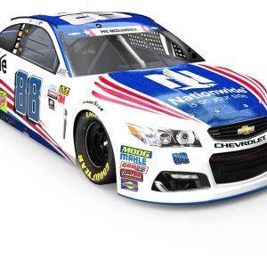 NASCAR campaign paint scheme