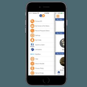 Nationwide pet app