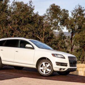 new white SUV