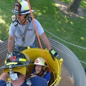 Grain bin rescue tubes