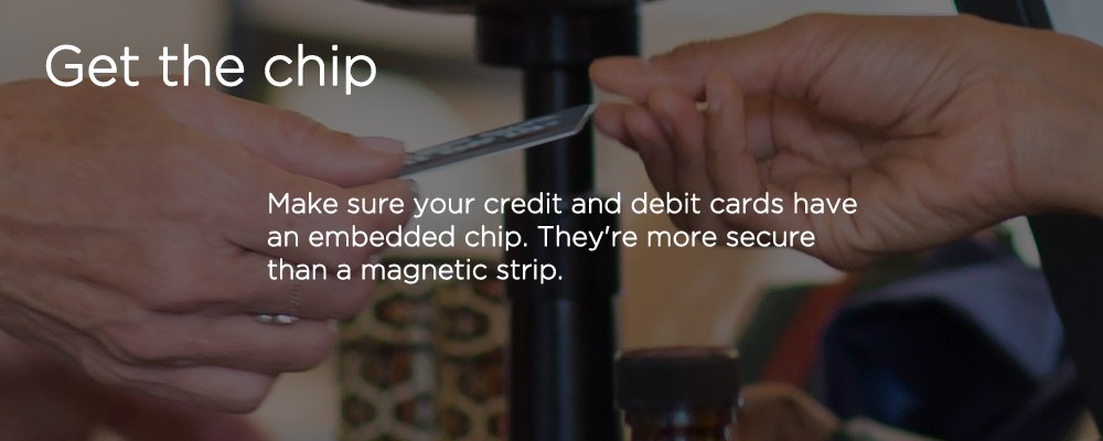 a credit card with text 'get the ship'