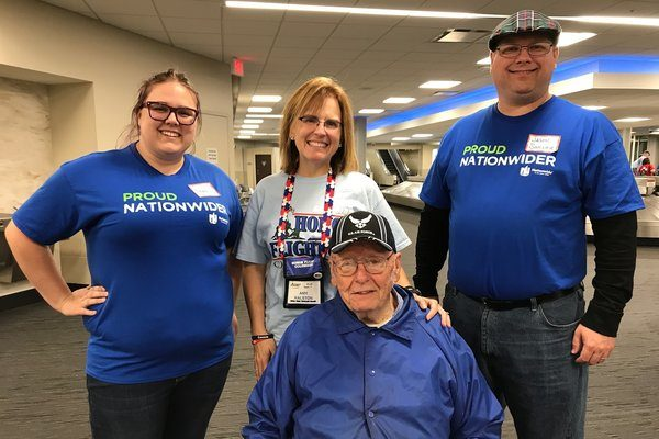 Nationwide honors veterans