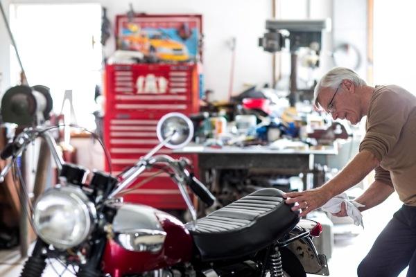 2-stroke motorcycle