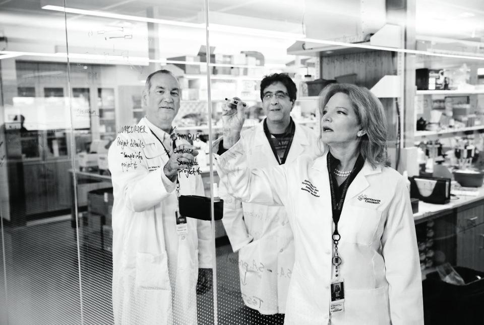 Pediatric researchers at Nationwide Children's Hospital
