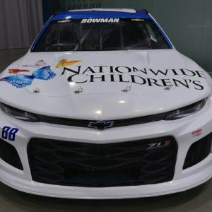 NASCAR supports Nationwide Children's Hospital