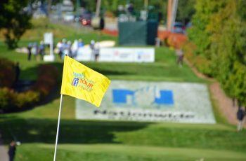 NCHC 2018 flag and course