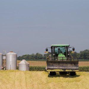 a farm vehicle