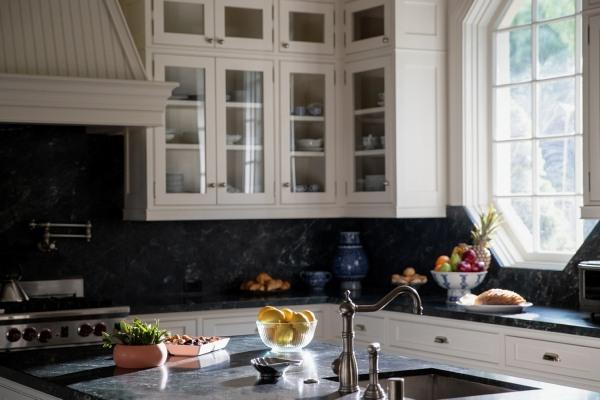 An updated kitchen