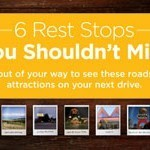 6 Rest Stops You Shouldn't Miss